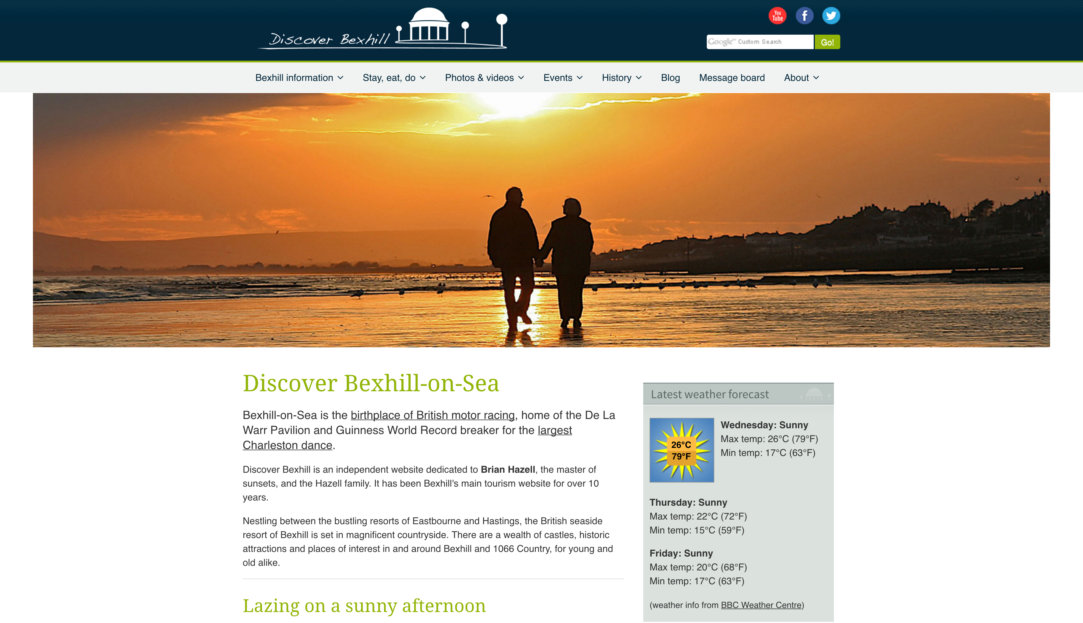 Discover Bexhill Screenshot