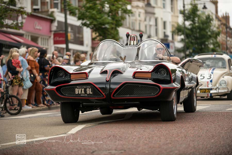 The Batmobile - Bexhill 60s Revolution