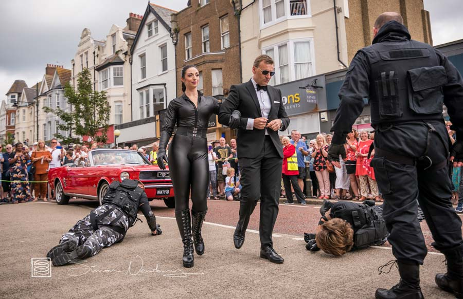 Bond Stunts - Bexhill 60s Revolution