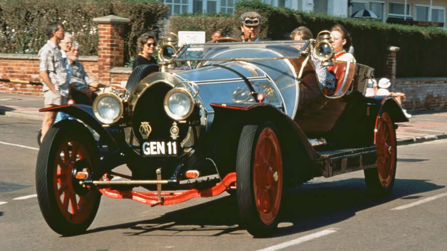 Chitty Chitty Bang Bang at the Bexhill 100 Festival of Motoring in 1990